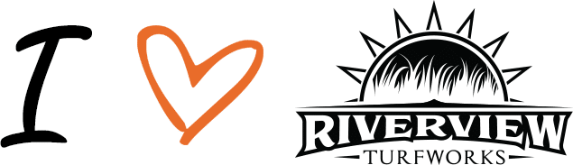 I love Riverview Turfworks logo